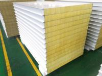 50-150mm Thickness Glass Wool Sandwich Panel for Metal Wall Cladding System