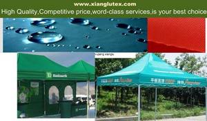 Wholesale Coated Fabric: Anti Fire Tent Fabric,Tent Material,500D Oxford