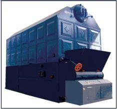 Wholesale coal fired boiler: Double Drums Coal-fired Steam & Hot Water Boiler