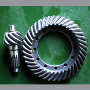 Wholesale construction machinery: Construction Machinery Spiral Bevel Gear Set for Axle