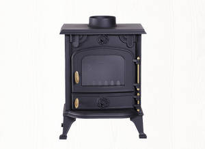 Wholesale Gas Cooker, Range, Stove: Cast Iron Clean Buring Stoves with High-temperature Resistant Glass for Heating