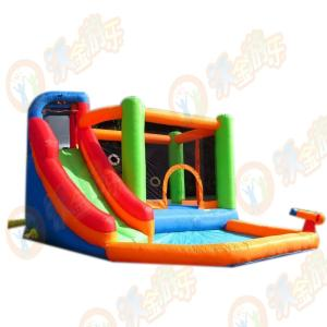 Wholesale pvc laminated tarpaulin: Inflatable Bounce Castle Air Castle /Jumping House for Kids and Family