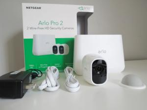 Wholesale security systems: New Arlo Pro 2 WiFi HD 3 Cameras +1 Solar Panel Wire-Free Security System Bundle