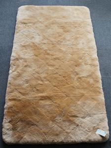 Wholesale carpet: Genuine Sheepskin Bed Carpet Lambskin Bed Cover