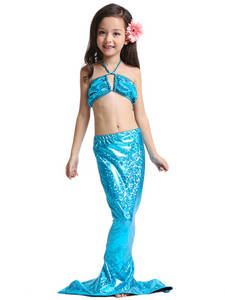 Wholesale Baby Sweaters: 2017 Hot Sale Children Swim Suit Wholesale Mermaid Tail Solid Swimwear