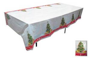 Disposable Christmas Plastic Tablecloth Id 8332772 Product Details View From Wonderful Co Ltd Ec21