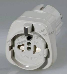 Wholesale multi adapter: EUROPEAN Style Multi-function Adapter W/Safety Shutter