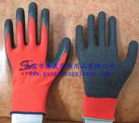 Working Gloves Latex Palm Coated