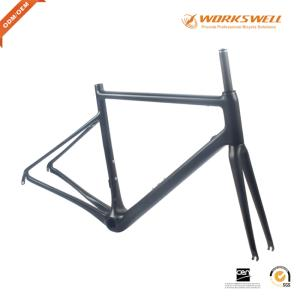 Wholesale road bicycles: Super Light Carbon Road Frame V Brake for Road Racing Bicycle Frame