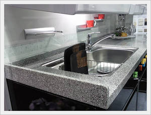 Wholesale Bathroom & Kitchen Fixtures & Fittings: CMMA Solid Surfaces Sink Top Table