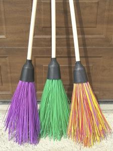 Wholesale garden: Plastic Broom - Sweeps the House, Street, Garden(Wet Foliage, Snow, Dirt)