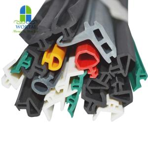 Wholesale windows doors: Customized EPDM PVC Silicone TPE Extruded Aluminum Door and Window Rubber Seal Strip