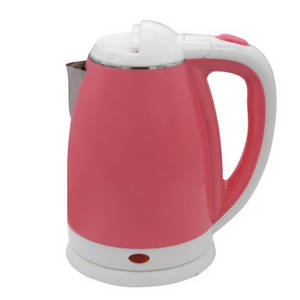 Wholesale water kettle: 1.8L Double Layers Anti-scald Colour Plastic Best Stainless Steel Electric Water Kettle