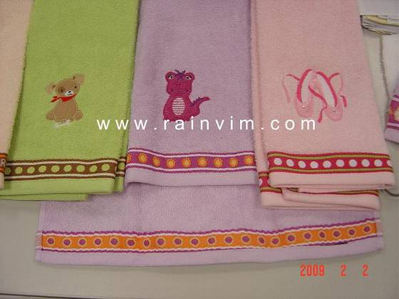 Sell 100% cotton bath towel with embroidery