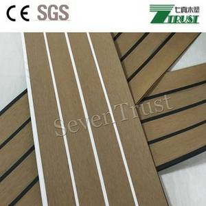 Wholesale marine deck: Marine Boat Yacht Synthetic Teak PVC Decking