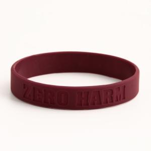 Wholesale Promotional Gifts: ZERO HARM Wristbands