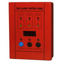 Mini Conventional Fire Alarm Control Master Panel