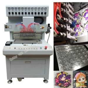 Wholesale label rule: Soft PVC Keychain Making Machine, PVC Keychain Dispensing Machine