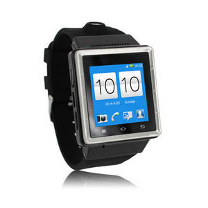 Wholesale android phone watch: CE Rose Fcc 3G WCDMA Android Watch Phone  S-6