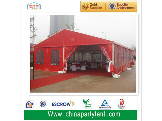 pvc window: Sell cheap aluminum frame party wedding event marquee 600 people church tent