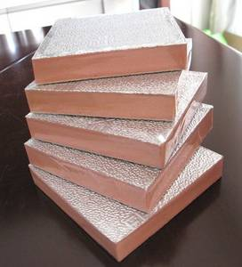 Wholesale ducting insulation: Phenolic Foam Pre-insulated Board for AC Duct