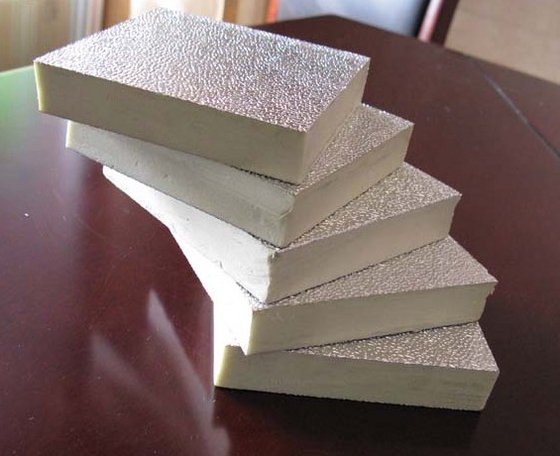 Pir Polyisocyanurate Foam Insulation Board Pu Air Duct