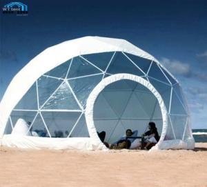 Wholesale transparent pvc cover: Diameter 3-60m Outdoor Transparent Roof Garden Greenhouse Clear Dome House Tent