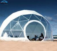 Diameter 3-60m Outdoor Transparent Roof Garden Greenhouse Clear Dome House Tent