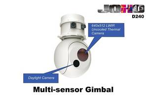 Wholesale ir camera: Lightweight Gyro Stabilised Eo IR Thermal Imaging Gimbal Camera