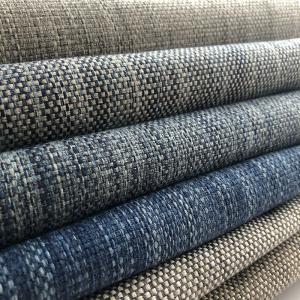 Wholesale Upholstery Fabric: 100% Polyester Imitation Linen China Upholstery Fabric for Chair, Fabric for Sofa