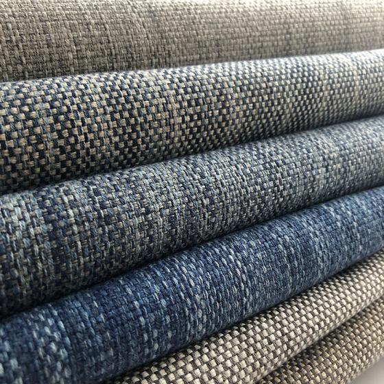 100% Polyester Imitation Linen China Upholstery Fabric for Chair, Fabric for Sofa