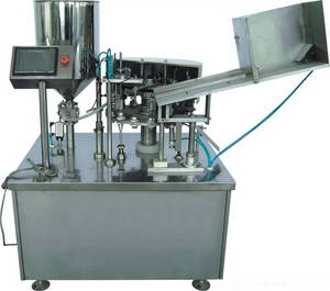 Wholesale tube filling sealing machine: DJGFX-125Z Automatic Metal Tubes Filling and Sealing Machine