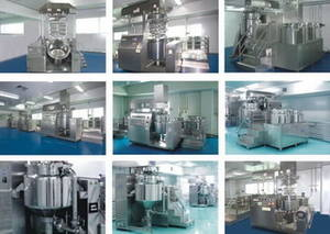 Wholesale homogenizers: DZJR Series Vacuum Emulsifying Homogenizer Machine