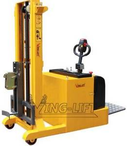 Wholesale electric stacker: 2400mm Lifting Height Full Electric Dumper  Counter Banlance Full Electric Drum Stacker YL420B