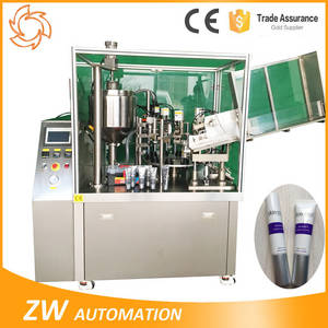 Wholesale tube filling sealing machine: Hand Cream Aluminum Laminate Tube Filling Sealing Machine