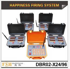Wholesale fireworks: Waterproof Case ,96 Channels Sequential Fireworks Firing System Wire Control Firing System