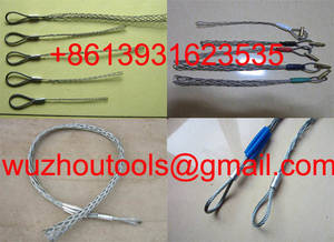 Wholesale cable grips: General Duty Pulling Stockings,Cable Pulling Grips,Conductive Stockings