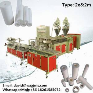 Wholesale cartridge: PP Spun Filter Cartridge Machine