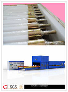 Wholesale quartz crucible: Quartz Ceramic Rolls for Glass Processing Kiln