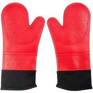 Wholesale silicone baking liner: Silicone Oven Mitts Heat Resistant Oven Gloves