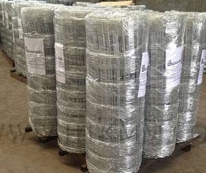 Wholesale cow fence: Galvanized Field Wire Fencing
