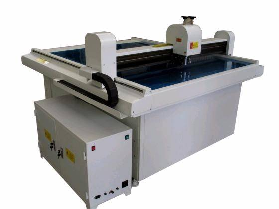 Sell box cutting machine