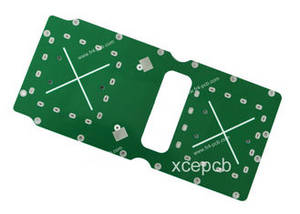 Wholesale printed circuit board: FR4 2.4GHZ Antenna High Frequency Printed Circuit Board Fabrication