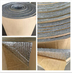 Wholesale aluminum foam: Hotsell Roofing Materials Double Bubble XPE Foam Aluminum Foil Thermal Insulation Material for Oven