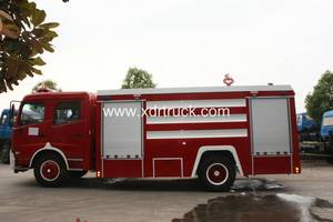 Wholesale open diesel generator: Dongfeng Tianjin Water Tank Fire Fighting Truck 8ton