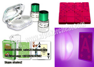 Wholesale natural light: Nature Light Playing Cards Lens / Luminous Ink Contact Lenses for Poker Magic