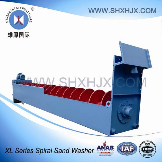 Sell Large Capacity Spiral Sand Washer For Hydropower Station