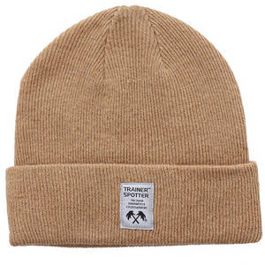 Wholesale beanie woven label: Knitted Beanie