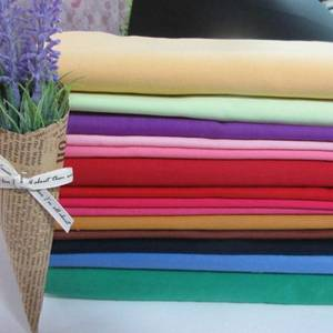 Wholesale 100%polyester: 100% Polyester Fabric Wholesale Poplin Dyed Lining Fabric