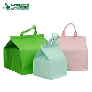 Wholesale non woven bags: Cake Insulated Bag Custom High - Grade Storage Bag of Non Woven Cold Storage Bag